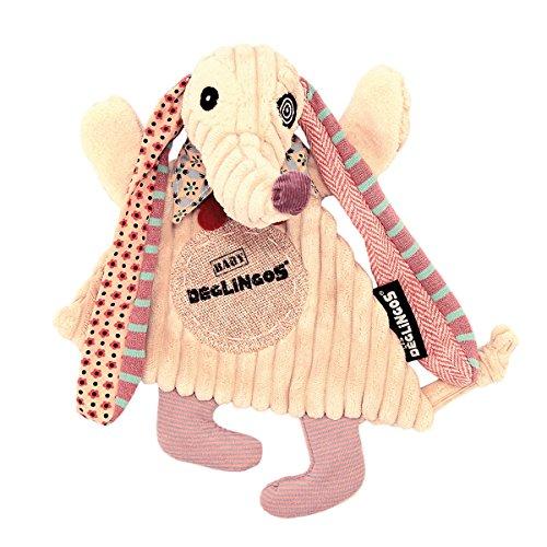 Les Déglingos 36705 Schmusetuch Baby Nonos der Hund