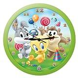Looney Tunes Baby Wanduhr Analog in Geschenkpackung 29x29 cm 039009