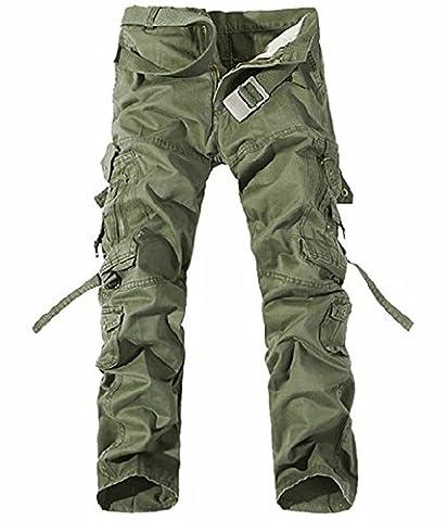 UMilk Hommes Pantalons de survêtement occasionnels masculins