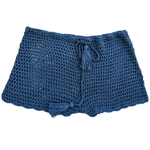Internet_Pantalones Cortos Traje baño Tejida Hecha