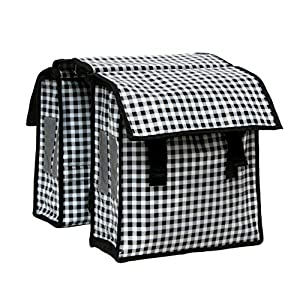 IKURI KinderFahrradtasche Wasserdicht – Große Radtasche für den Gepäckträger Wasserfeste Gepäckträgertasche Seitentasche…