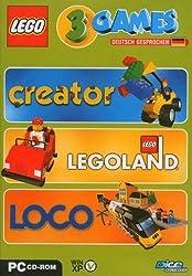 Lego 3 Games Pack (Creator / Legoland / Loco)