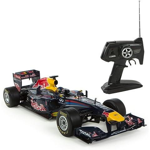 Color Baby - Coche con radiocontrol F1, diseño de Red Bull, 1:12 (40410)