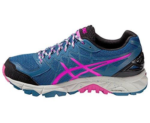 Asics Gel-fujitrabuco 4, Chaussures de Trail Femme Blue