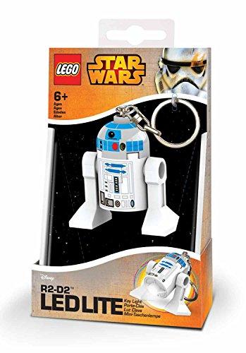 Lego 90032 Minitaschenlampe Star Wars, R2-D2, 7,6 cm (Star Wars Lego-r2d2)