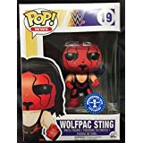 Funko - Figurine WWE - Wolfpac Sting Exclu Pop 10cm - 0849803070731