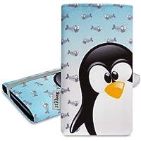 Stilbag Funda 'MIKA' para LG Optimus L7 P700 - Diseño: Ice Pinguin
