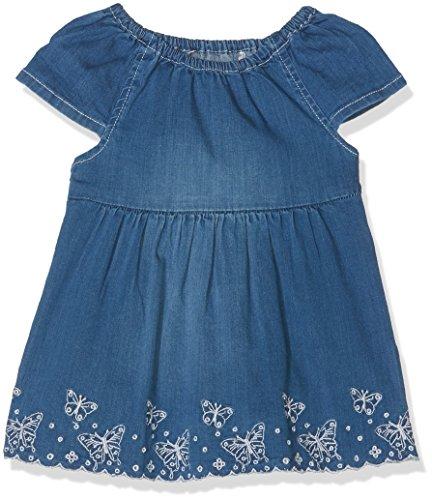 s.Oliver Baby-Mädchen Kleid 65.803.82.2707, Blau (Blue Denim Non Stretch 55y3), 86
