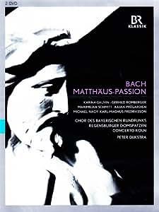 BACH: Matthäus-Passion (Chor des BR, Regensburger Domspatzen, München, 2013) [DVD]
