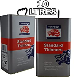 Standard Cellulose Thinners 5 Litres Gun Cleaner Paint Primer 5L FP x 2