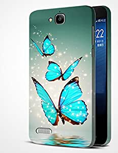 alDivo Premium Quality Designer Printed Slim Light Weight Mobile Back Cover Case For Huawei Honor Holly (MKD325)