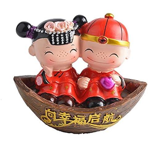 Ornamenti Cinesi Sposa Stile, Ornamenti Per La Casa, Piccoli Regali, Regalo Di Nozze, Una Serie Di Due, Regalo Di Anniversario Di Compleanno, Inviare Regali D'amore