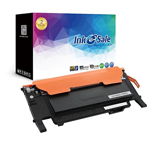 INK E-SALE 1 x Toner kompatibel zu Samsung CLT-407S CLP-320 für Samsung Color Laserjet Pro CLP-320 CLP-325 CLP-326 CLP-321N CLX-3185N CLX-3186 CLX-3186N CLX-3186FN CLX-3285 Schwarz