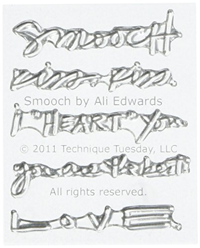 """Smooch Technique Tuesday Clear Stamps 2""""X2.5"""" TT299-SMOOC"""