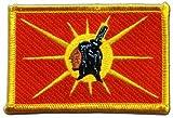 Flaggen Aufnäher Indianer Mohawk Fahne Patch + gratis