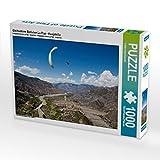 Gleitschirm Bolivien La Paz - Huajchilla 1000 Teile Puzzle Quer