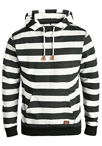 Blend Crombie Herren Kapuzenpullover Hoodie Pullover Mit Kapuze, Größe:XL, Farbe:Black (70155) -