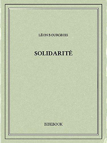 Couverture du livre Solidarité
