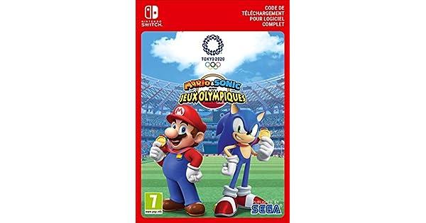 Mario Sonic Aux Jeux Olympiques De Tokyo 2020 Standard