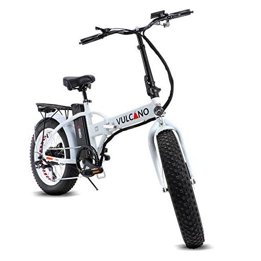 Fat Bike Bicicletta Elettrica Pieghevole A Pedalata Assistita 20