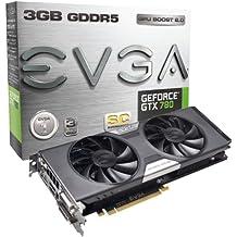 EVGA NVIDIA GeForce GTX 780 Superclocked mit ACX Cooler Grafikkarte (PCI-e, 3GB GDDR5 Speicher, DVI, 1 GPU)