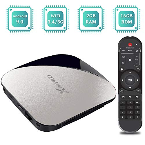 Sidiwen Android 9.0 TV Box X88 Pro Set Top Box 2GB