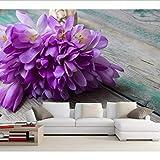 Zybnb, Krokusse Blumensträuße Veilchen Blumen Tapeten, Restaurant Wohnzimmer Tv Wand Schlafzimmer Küche 3D Tapeten