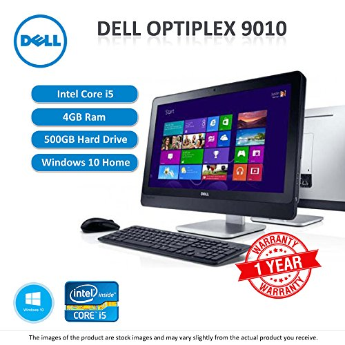 """Dell Optiplex 9010 All-in-One 23"""" Monitor Core i5 2.4GHz 8GB RAM 256GB SSD Windows 10 Home 64Bit sold and warranted by Easy buy (CRS-UK) Registered Trade Mark No.UK00003100631"""