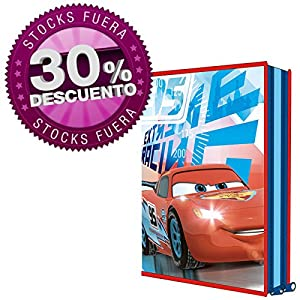 Plumier Cars Disney doble 16pz