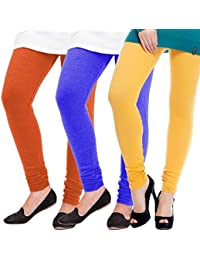 ROOLIUMS ® (Brand Factory Outlet) Women Winter Woolen Lycra Leggings (Pack Of 3) Free Size