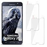 moex 2X Samsung Galaxy J5 (2016) | Schutzfolie Klar Display Schutz [Crystal-Clear] Screen Protector Bildschirm Handy-Folie Dünn Displayschutz-Folie für Samsung Galaxy J5 2016 Displayfolie