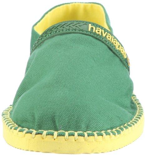 Havaianas Origine H4116611-2919 Unisex-Erwachsene Espadrille Halbschuhe Grün 2919