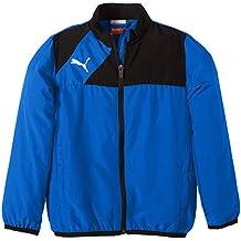 Puma Jacke Esquadra Woven Jacket - Cortavientos para niño, color azul, talla 176 cm