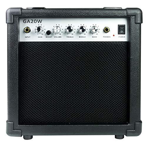 Salida RockJam GA20W amplificador guitarra Con Heaphone