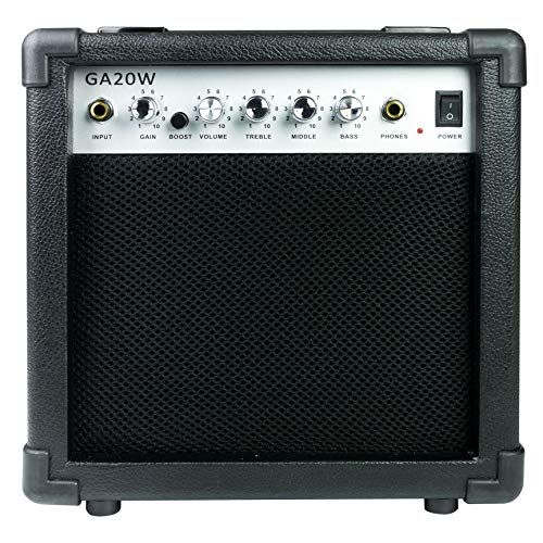 Acoustic solutions ga-20w amplificatore per chitarra