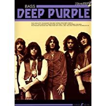 Deep Purple Authentic Playalong Bass: Bass Guitar Songbook by Deep Purple (2008-04-30)