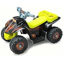 Quad Bateria 6V Moto Electrica Niños 2 años Velocidad 2'5 Km/h Carga Máxima 20 Kg Cargador