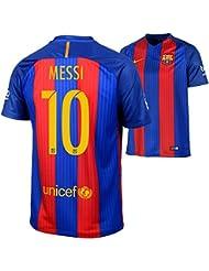 2016-2017 Barcelona Home Nike Football Shirt
