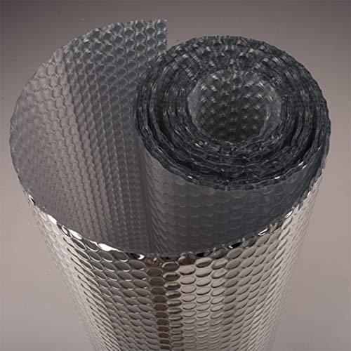 MINSHAM Rollo de Aislamiento Térmico Doble Lámina en Aluminio – Ideal para...