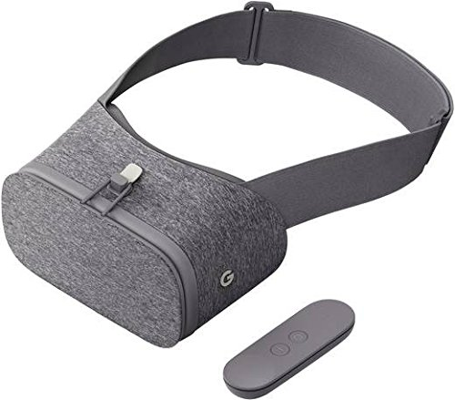 Google Daydream View VR-Headset schiefergrau
