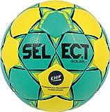 SELECT Solera Ballon de handball Unisexe, Jaune-Vert, Taille 1