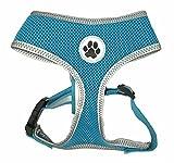 Reflektierendes Hundegeschirr aus Netzstoff, sicher und ohne Ziehen, zum Gassigehen
