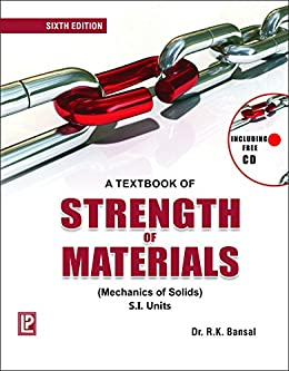 A textbook of strength of materials a textbook of strength of materials by dr r k bansal fandeluxe Gallery