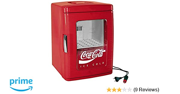 Kühlschrank Coco Cola : Ezetil coca cola mini kühlschrank mit transparenter tür