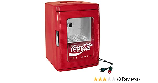 Kleiner Coca Cola Kühlschrank : Ezetil coca cola mini kühlschrank mit transparenter tür