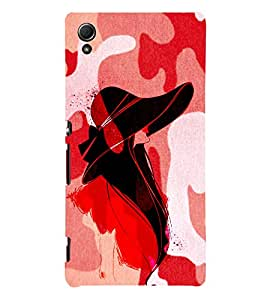 Pattern Fashionist 3D Hard Polycarbonate Designer Back Case Cover for Sony Xperia Z4 :: Sony Xperia Z4 E6553