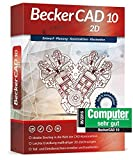 Markt & Technik Becker CAD 10 2D versione completa, 1 licenza Windows CAD-Software