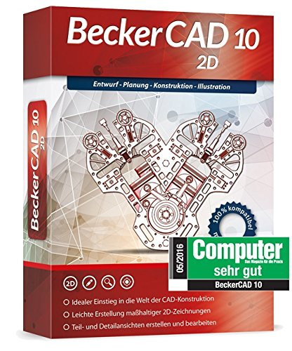 BeckerCAD 10 - 2D Test