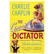 Pop Culture Graphics Póster de película el Gran dictador en 11 x 17-28 cm x 44 cm Charlie Chaplin Paulette Goddard Jack Oakie Billy Gilbert Reginald Gardiner Henry Daniell
