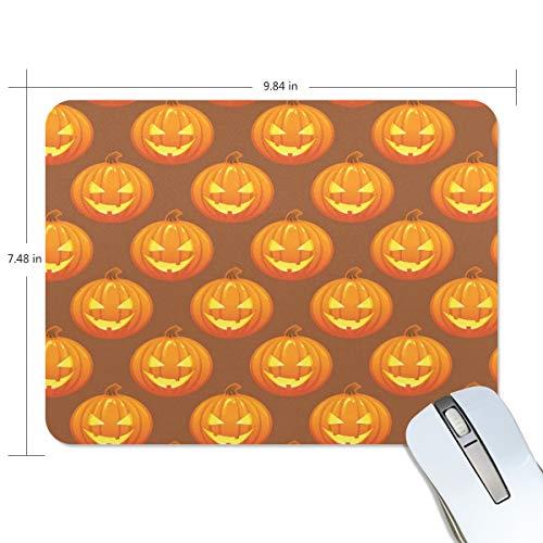 d Scary Halloween Kürbis Mauspad Gaming Mauspad Computer Tastatur Mauspad 23,84 x 7,84 x 0,2 in ()